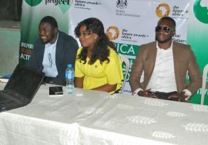 TFAA Alumni Olufunbi Falayi, Tricia Ikponmwonba and Mr Nigeria Emmanuel Ikubueze