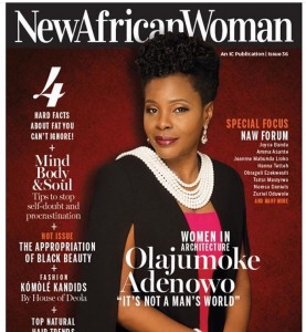 Olajumoke Adenowo New Africa Woman cover