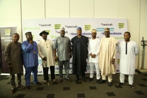 Bamikole Omishore;Obi Asika;Senator Foster Ogola;Senator Dino Melaye; Senate President Dr. Bukola Saraki,Adebola Williams; Senator Sabi Abdullahi