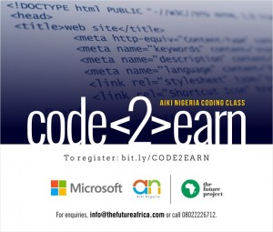 Code2Earn Flyer