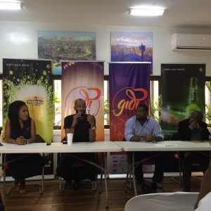 Ngozi Nkwoji, Brand Manager Heineken; Chin Okeke, founder Gidi Culture Festival;Representative from Eko Atlantic City and Representative from Mikano International